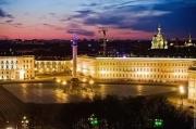 Ноябрьские праздники в Санкт-Петербурге.